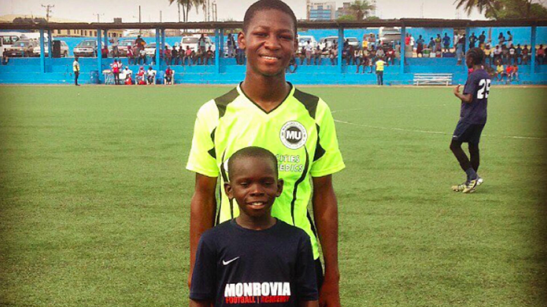 Prince & Older player 2016 Monrovia FA