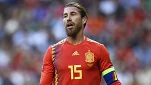 Sergio Ramos Spain Sweden
