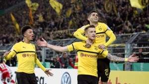 Marco Reus Christian Pulisic Jadon Sancho Borussia Dortmund 31102018
