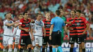 Chris Beath Western Sydney Wanderers v Melbourne Victory A-League 10122016