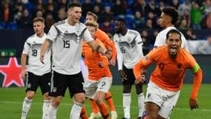Virgil van Dijk Germany - Netherlands Nations League 11192018