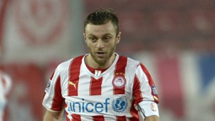 Avram Papadopoulos Olympiacos v Levadiakos Greek Super League 18012014