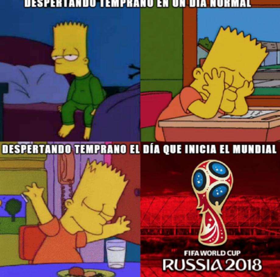 Memes inauguración Mundial
