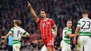 MATS HUMMELS BAYERN MÜNCHEN UEFA CHAMPIONS LEAGUE 18102017