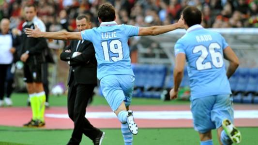 Lulic Andreazzoli Roma-Lazio