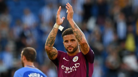 Kyle Walker Manchester City Brighton and Hove Albion
