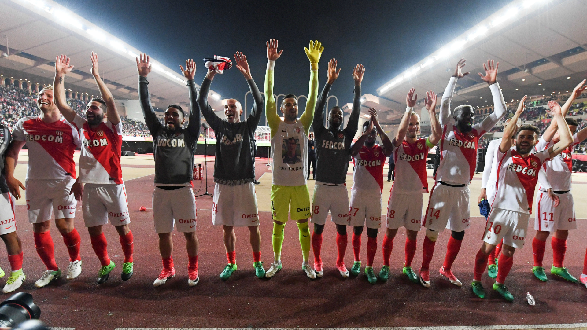 Ligue 1, Monaco-Saint-Etienne 2-0: arriva il titolo