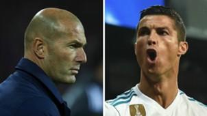 Cristiano Ronaldo Zinedine Zidane 2017