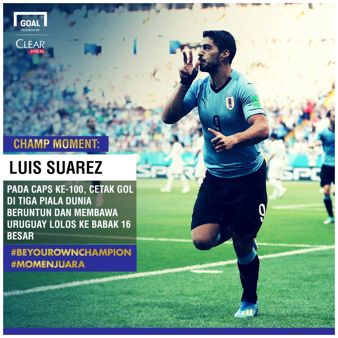 Champ Moment: Luis Suarez