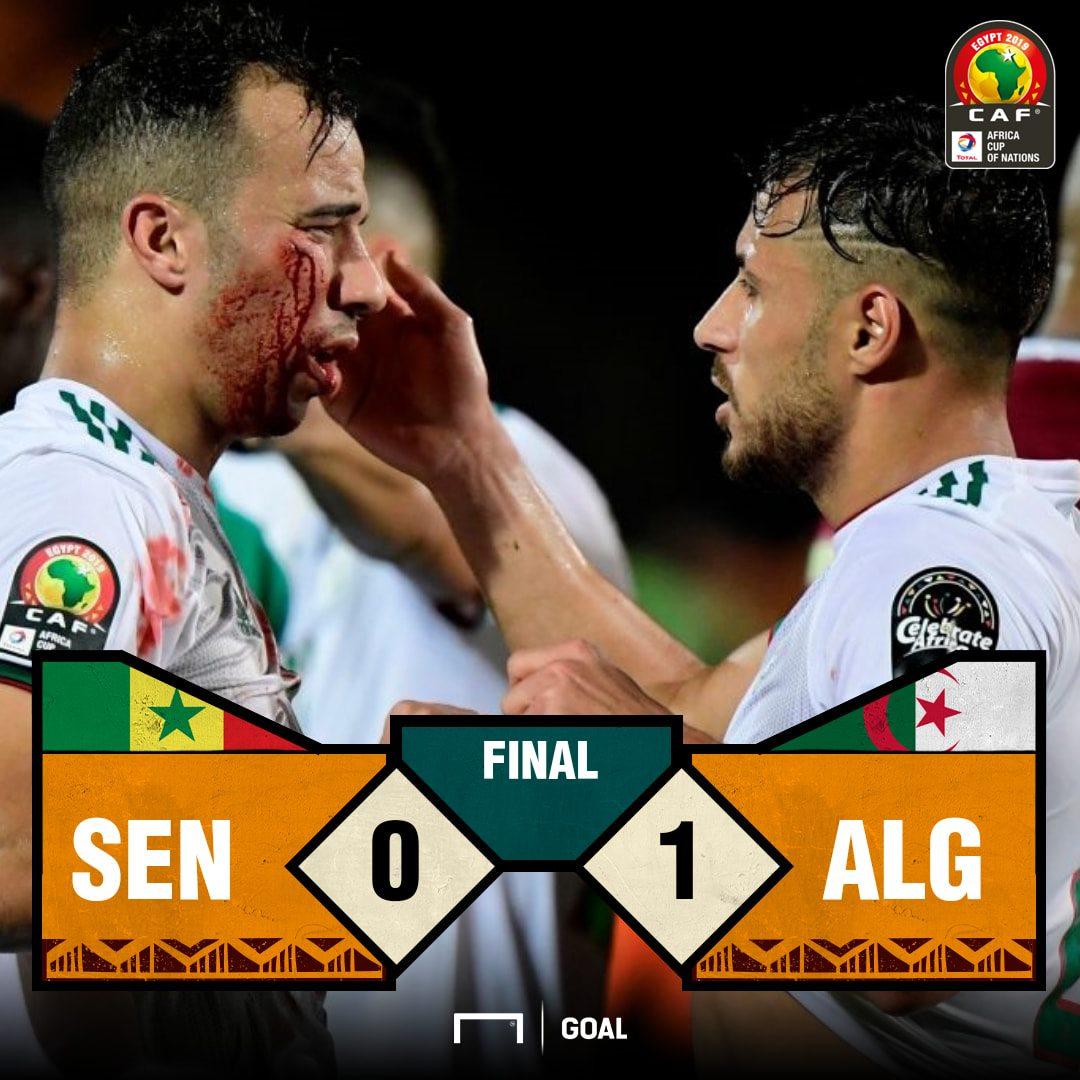 Senegal Algeria Score PS