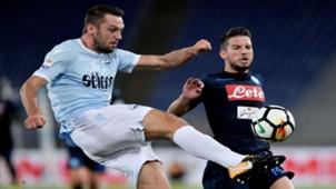 Stefan De Vrij Dries Mertens Lazio Napoli Serie A 20092017