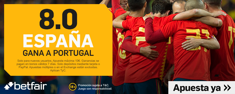 Betfair España Portugal