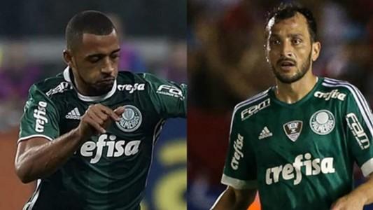 Vitor Hugo e Edu Dracena - Palmeiras - 5/04/2017