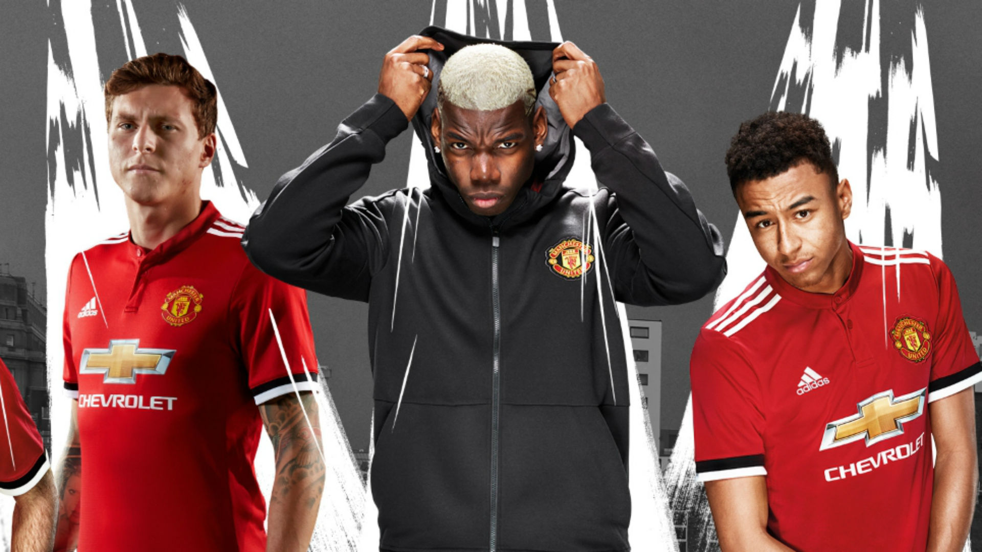 9371805123f Manchester United home kit 2017-18