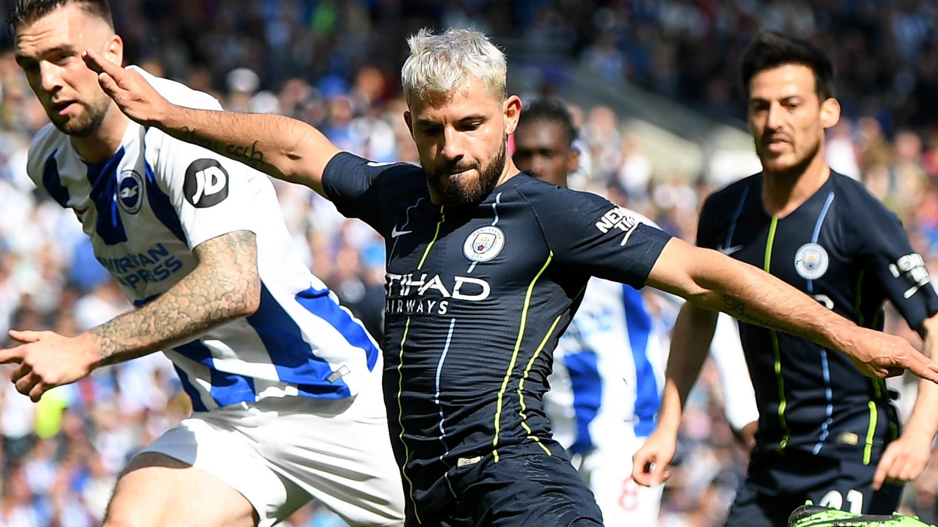 Sergio Aguero Manchester City 2018-19