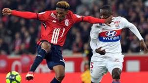 Thiago Mendes Mouctar Diakhaby Lille Lyon Ligue 1 18022018