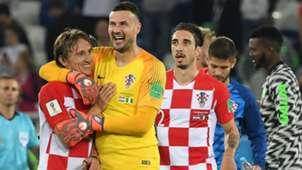 croatia nigeria - luka modric danijel subasic - world cup -16062018