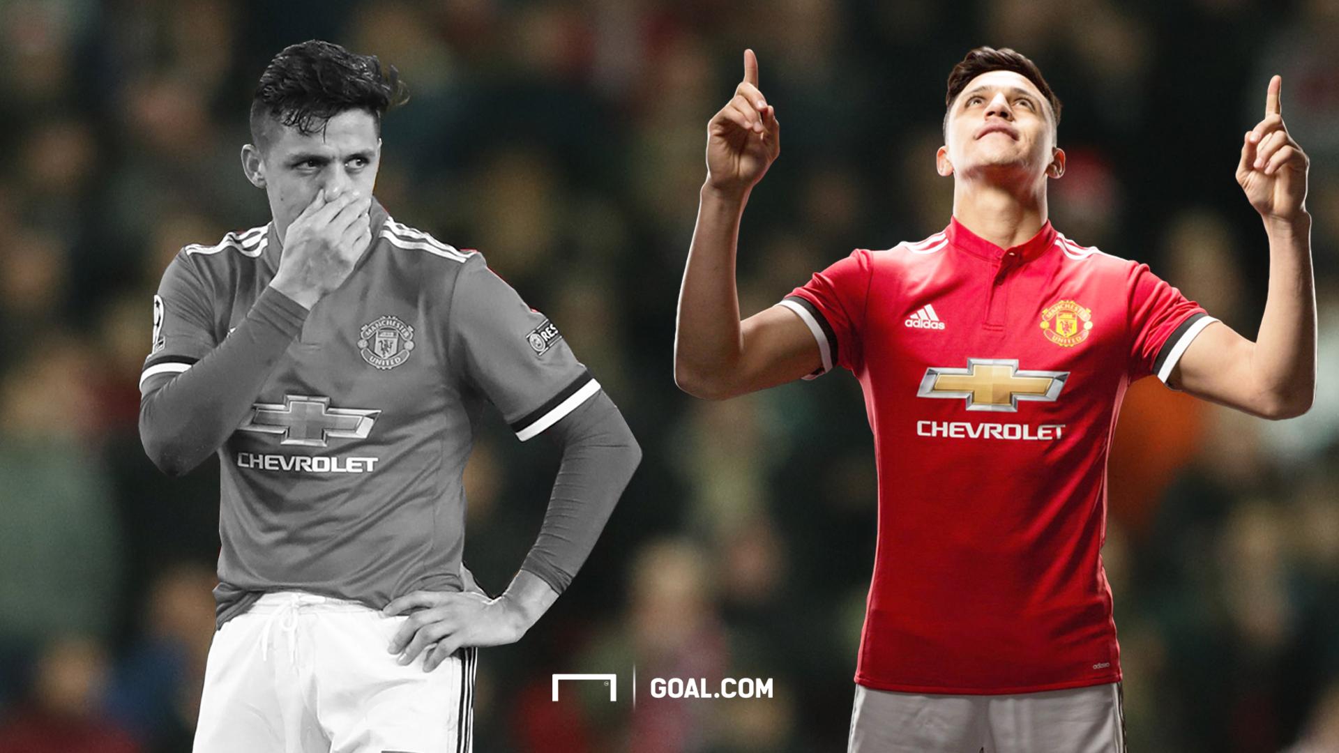 Alexis Sanchez Manchester United GFX