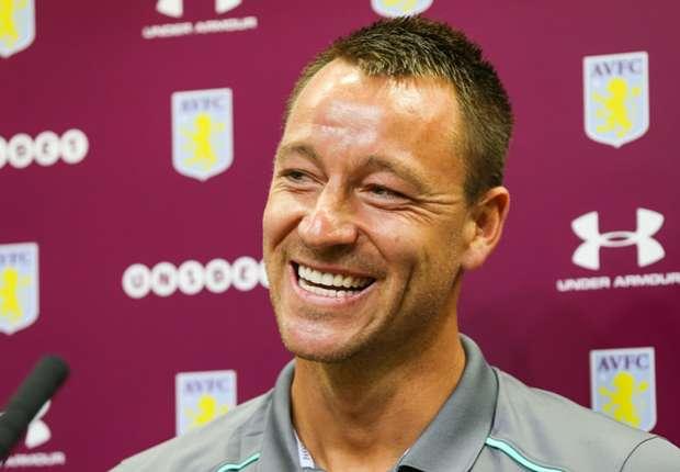 John Terry signs for Aston Villa