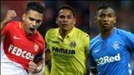 Goleadores cafeteros con más de 100 goles en Europa mix