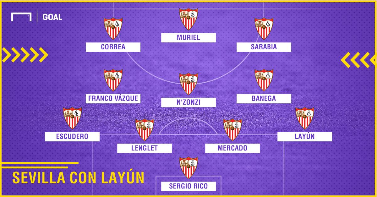 Sevilla con Layún