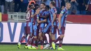Trabzonspor goal celebration Bursaspor 11042018