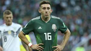 Hector Herrera Mexico Germany WC 2018