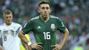 Hector Herrera Mexico Germany WC 2018