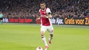 Hakim Ziyech, Ajax - Sparta, Eredivisie, 15102017