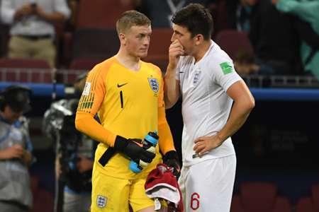 England reaction vs Croatia
