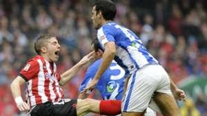 Iker Munian Xavi Prieto Athletic Bilbao Real Sociedad 2012
