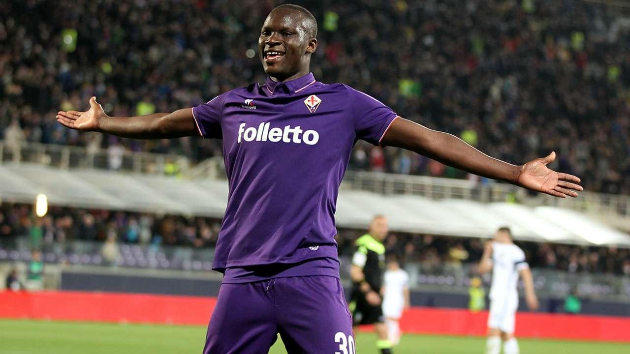 Babacar Fiorentina Inter Serie A