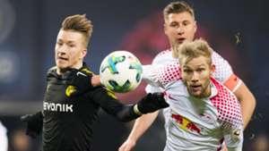 RB Leipzig Borussia Dortmund Konrad Laimer Marco Reus 03032018