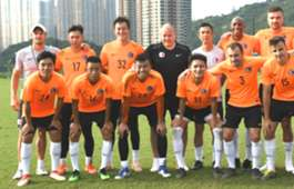 Hong Kong team has the first training sesson under new coach Mixu Paatelainen.