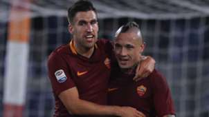 Strootman Nainggolan Roma Serie A