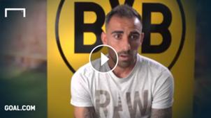 GFX Paco Alcacer Borussia Dortmund