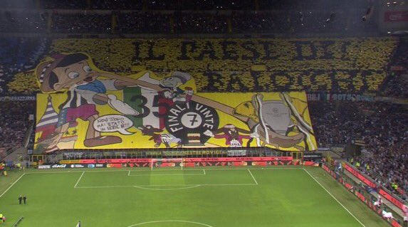 inter tifo vs juventus