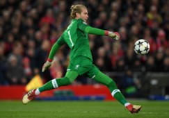 Loris Karius didn't have a shot to save against City