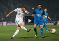 GFX Real Madrid Fuenlabrada Play Button
