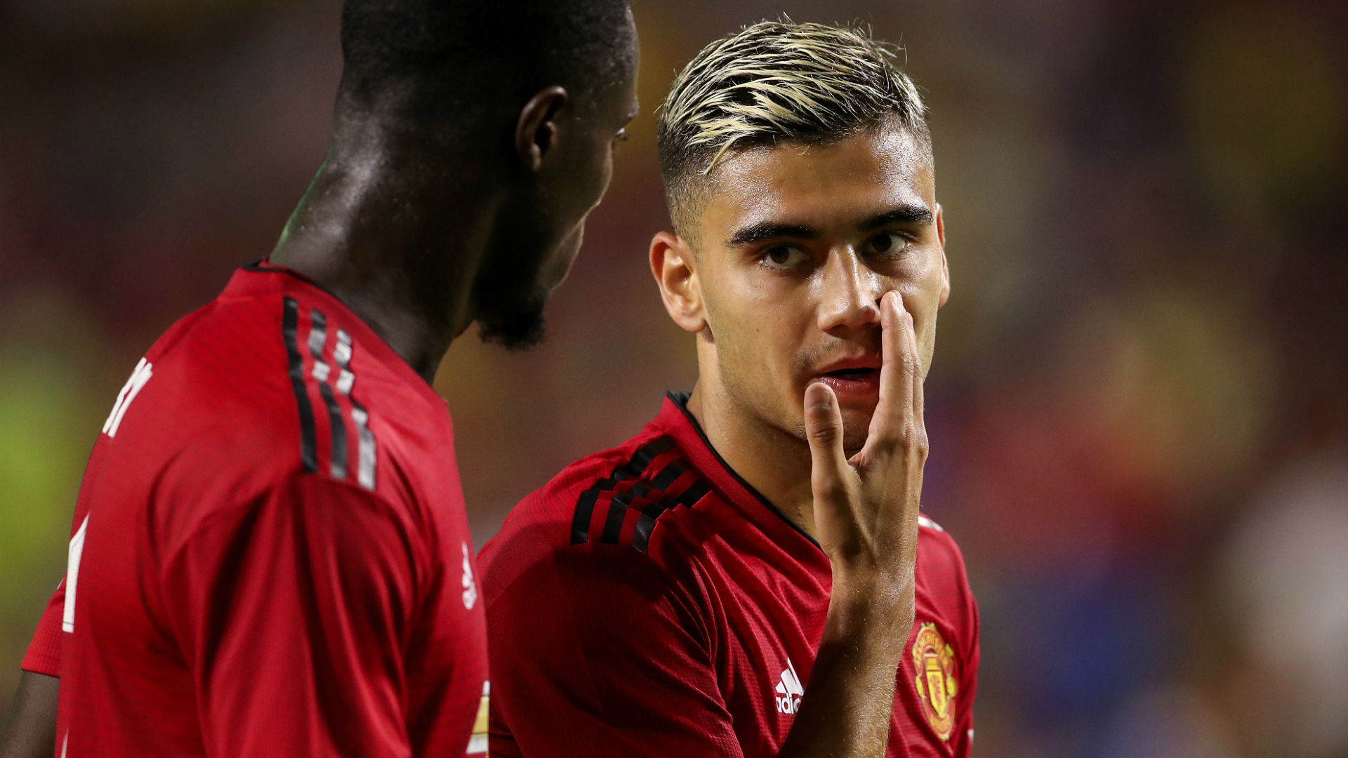 Andreas Pereira, Manchester United 07192018