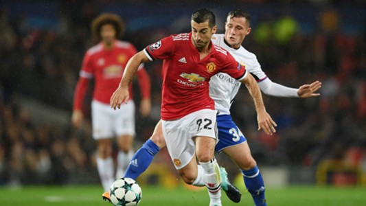 Henrikh Mkhitaryan Taulant Xhaka Manchester United Basel 12092017