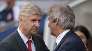 Arsene Wenger - Manuel Pellegrini