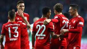 Serge Gnabry FC Bayern Werder Bremen
