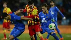 Rafael Lopez Lionel Messi Getafe Barcelona 01162014