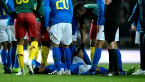 Neymar injury Brazil Cameroon Friendly 20112018