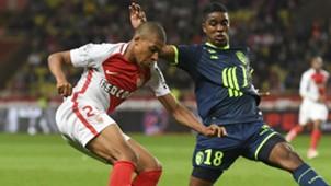 Kylian Mbappe Franck Beria Monaco Lille Ligue 1 14052017
