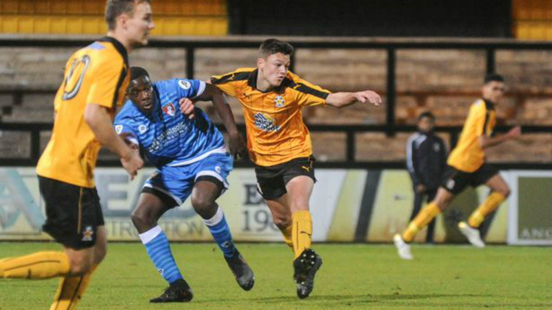 Lee Watkins Cambridge United 290918