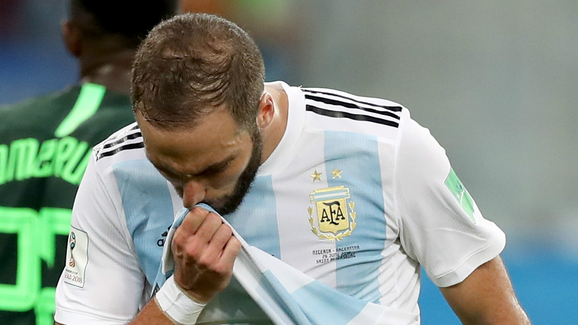 Gonzalo HIGUAIN announces retirement from Argentina team