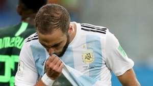 Gonzalo Higuain Argentina 2018