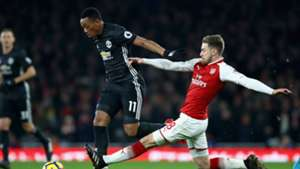 Anthony Martial Manchester United Arsenal
